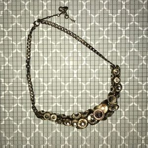 Fossil Rose Gold Bling Necklace